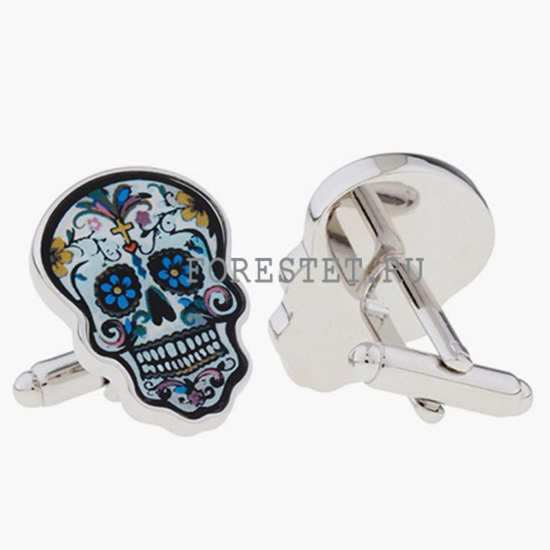 cufflinks steel cherep 5131 2