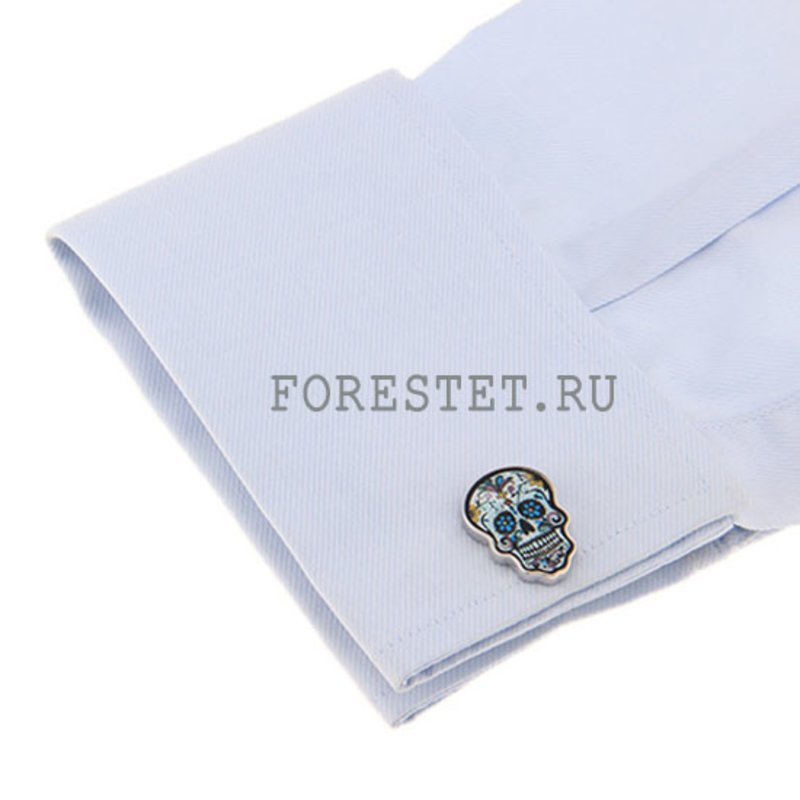 cufflinks steel cherep 5131 3